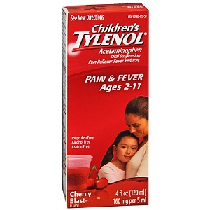 Tylenol, acetaminophen