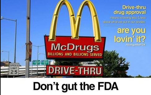 Don't gut the FDA!